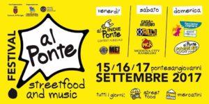 Festival Al Ponte 15, 16 e 17 settembre