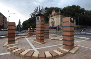 Inaugurazione rotonda e statua etrusca Arzilli