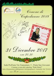 Capodanno Pro Ponte 2017