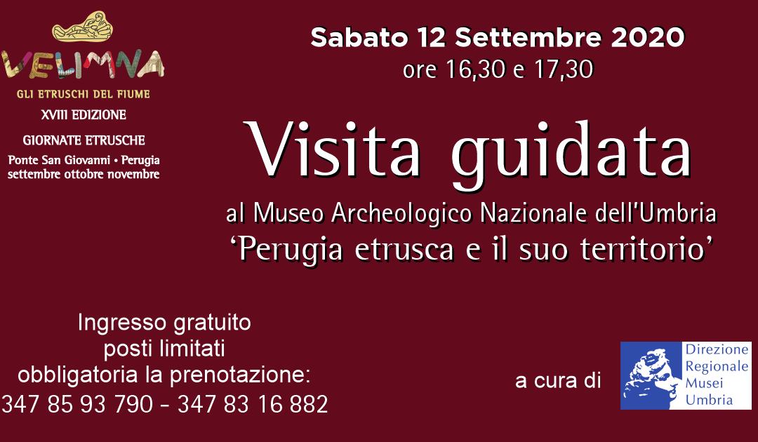 Giornate Etrusche, visite al museo archeologico